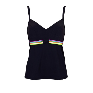 Lidea Tankini Top 483/640 black-multicolo