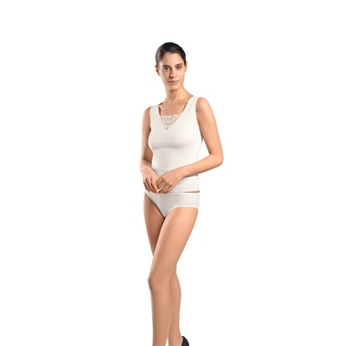 Hanro Vittoria Top Off White 0102