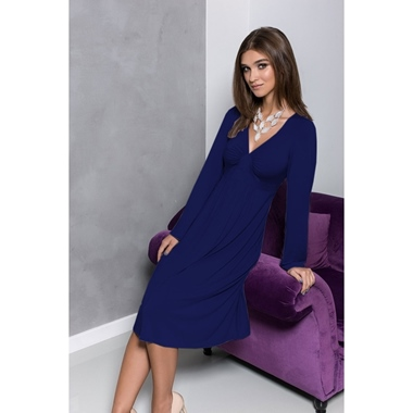 Coemi Nightdress Deep Cobalt