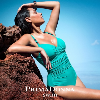 PrimaDonna Swim Cocktail Badeanzug Bügel Summergreen