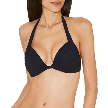 Aubade Swimwear Glam Cocktail Bikini Top Push Up Black