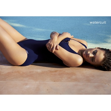 Watercult Summer Solids Badeanzug gef. Nocturne
