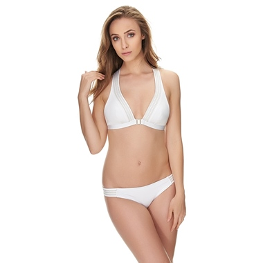 Huit8 Full In Love Bikini Set Blanc