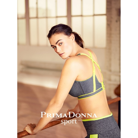 PrimaDonna The Sweater Sport BH Cosmic Grey