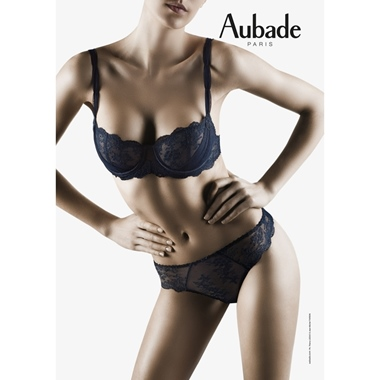 Aubade Paris A L`Amour Bügel BH Blue