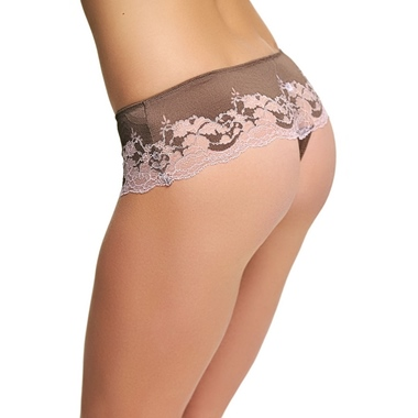 Wacoal Lace Affair String Cognac