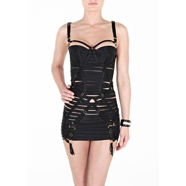 BORDELLE Girdle Dress with removable Straps