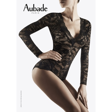 Aubade Paris Troublant Desir Body SL Noir
