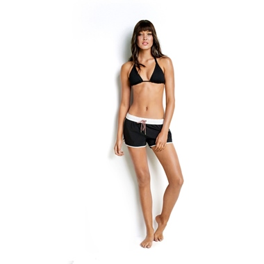 Seafolly Australia Beach Runner Short Black