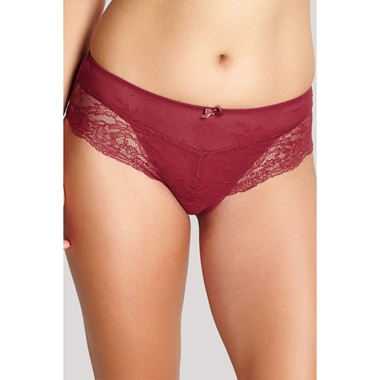 Panache Ana Panty Burnt Red