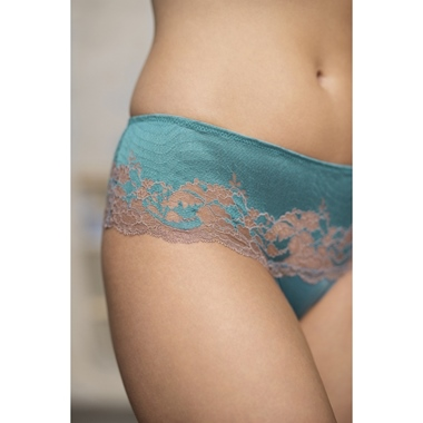 Wacoal Lace Affair String Pagoda Blue