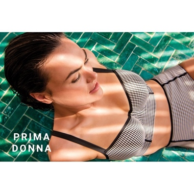 Prima Donna Swim Atlas Bikini Top gef. schwarz