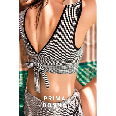 Prima Donna Swim Atlas Top Bademode schwarz