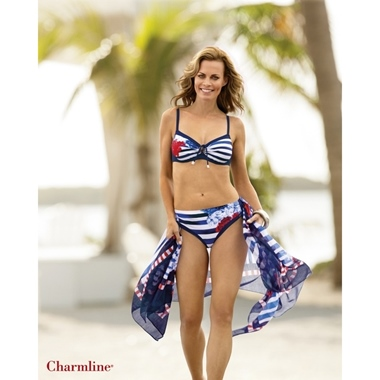 Charmline Charmline Pareo navy-red 442/749