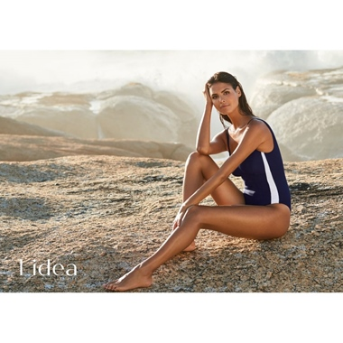 Lidea Active Shape Badeanzug navy-white
