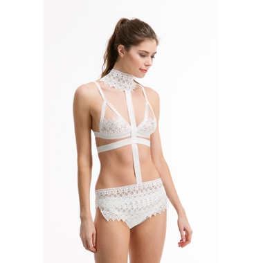 Bluebella Ines Harness Ivory