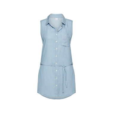 Beachlife Bluse Denim Blue