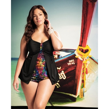 Elomi Swim Tankini Elomi Night Fever schwarz