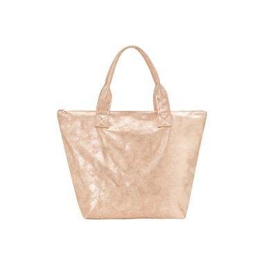 Seafolly Australia Vegan Leather Shopper Peach Melba