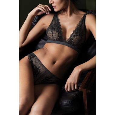 Wacoal Lace Perfection BH bügellos Charcoal