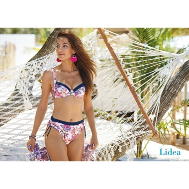 Lidea Vibrant Indochine Bikini Set White-Mix